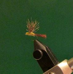 PMD Sparkle Dun Fishing Fly by Call of the Wild Flies on Etsy, $1.95