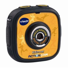 The Kidizoom Action Cam by VTech lets little videographers capture their adventures with videos and photos! The Action Cam is a great first video camera for kids and is durable enough to handle drops and tumbles. It can go anywhere and do anything kids can do with two included mounts so they can attach it to a bike, skateboard and more. It also comes with a waterproof case so they can take videos and pictures up to six feet underwater! The Action Cam features a 1.4-inch color LCD screen and…