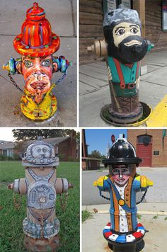 Flame On! 19 Fire Hydrants You'll Want To Use | WebUrbanist