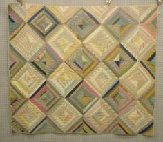 PATCHWORK QUILT, OPTICAL ILLUSION