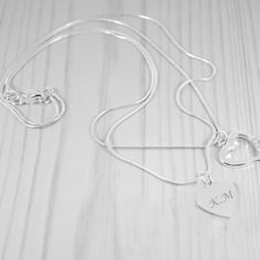 Looking for the perfect Personalised mother of the groom gift? Choose from a wide range of stunning wedding thank you gifts - Fast UK Delivery. Sterling Silver Heart Necklace, Silver Pendant Necklace, Silver Earrings, Indian Jewelry, Unique Jewelry, Mother Of The Groom Gifts, Personalized Mother's Day Gifts, Rose Gold Jewelry, Gold Jewellery