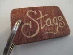 Make Memento Stags Keyring by MakeMemento on Etsy, £3.99