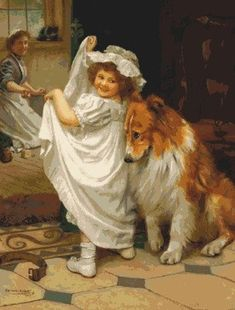 Pablo Picasso, Dog Grooming Business, Little Bo Peep, Dogs And Kids, Dogs Golden Retriever, Retriever Dog, Cross Paintings, Poses, Dog Art
