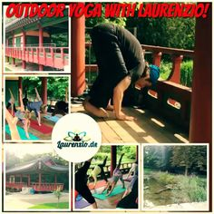 """Some bakasana/lolasana fun with my yoginis in our last outdoor yoga class in korean garden frankfurt / germany.  """"I've learned that people will forget what you said, people will forget what you did, but people will never forget how you made them feel."""" ~ Maya Angelou  Next yoga class: 17 mai: 1 pm   Register now: Mobile: 017632101451 or by Email: info@laurenzio.de  Performed, Designed, Video & Music produced by Laurenzio.  Thank You for all the comments, likes, follows and shoutouts, reposts…"""
