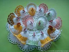 How to crochet chicken - Handmade-Paradise Beau Crochet, Crochet Birds, Thread Crochet, Crochet Crafts, Crochet Doilies, Crochet Projects, Free Crochet, Crochet Chicken, Confection Au Crochet