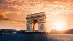 """Europe would not be complete without a trip to the """"city of love"""", Paris is one of the continent's most popular tourist destinations. 5 Days In Paris, Paris In October, Tour Eiffel, Arc Triomphe, Kyoto, Paris Bucket List, Paris Neighborhoods, Famous Monuments, Empire Romain"""