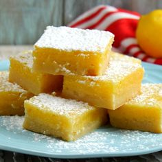 Look No Further...These Easy Lemon Bars Are Fool-Proof and So Delicious!