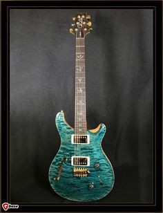 Paul Reed Smith Wood Library Custom 22 Semi-Hollow-Crab Blue