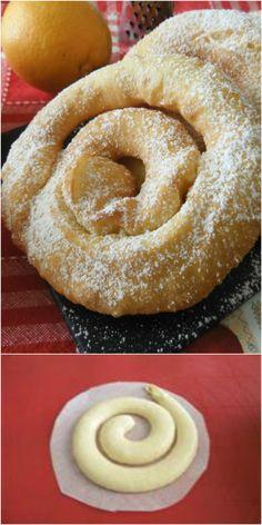 Castagnole recipe roll up in orange Carnival Cakes, Carnival Food, Sweet Corner, Little Cakes, Mini Desserts, Healthy Baking, Sweet Recipes, Sweet Treats, Food Porn
