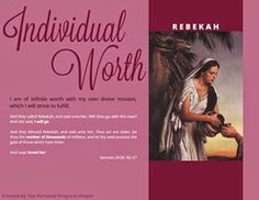 Scriptural Women of Value Poster Rebekah from the Old Testament! Free Download