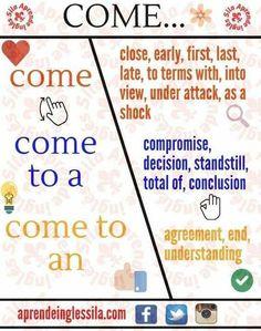 English Learning Spoken, Teaching English Grammar, English Writing Skills, Grammar And Vocabulary, English Vocabulary Words, English Language Learning, English Idioms, English Phrases, Learn English Words