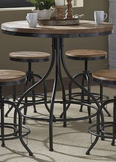 Vintage Series Pub Table | Liberty | Home Gallery Stores