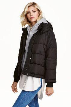Jachetă vătuită - Negru - FEMEI | H&M RO 1
