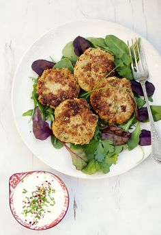 Vegetarian burgers with cauliflower, red lentils and sweet potato
