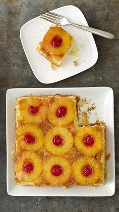 Healthified Pineapple Upside-Down Cake