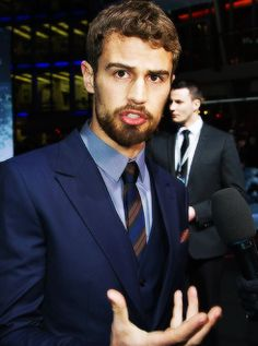 Theo suits a beard <3