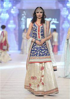 9975f77e Best Pakistani Fashion Designer Bridal Collections at PFDC L'Oreal Paris  Bridal Couture Week 2014
