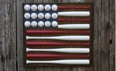 baseball bat flag Cute for boys room