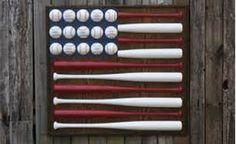 baseball bat flag Cute for boys room