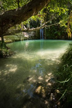 Adonis Baths waterfalls, Paphos - Cyprus - take a full look at a little paradise on the blog www.thevivalavita.com