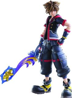 Square Enix Kingdom Hearts III: Sora Play Arts Kai Action Figure From Square Enix. From the latest chapter in the globally beloved Kingdom Hearts series by Sora Kingdom Hearts, Pvc Paint, Kindom Hearts, Classic Video Games, Game Costumes, Anime Figurines, Mode Shop, After Life, Best Games