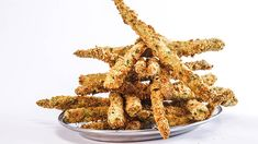 2 types of breadcrumbs are the secret to these crunchy, oven-baked spears.
