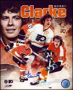 Bobby Clarke 8x10 Legends Collage