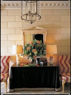 One of my most favorite entrance halls ...Did it years ago and it is so timeless and updated all at once.....