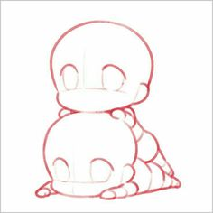 [Drawing] Chibi Pose Reference (Draw the squad) Draw Chibi, Anime Chibi, Chibi Eyes, Chibi Cat, Bts Chibi, Anime Naruto, Chibi Sketch, Anime Sketch, Drawing Base