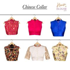 Our customer creations truly delight us! Check out these ultra hip chinese collared blouses created by various cool customers. Chinese new year anyone? Go ahead and give our 'STYLE CREATOR' a whirl - combine in ways you can only imagine :) Get inspired and create you own at http://ift.tt/2k95tUI #customercreation #chinesecollar #creations #trendy #blouse #customise #customdesign #love #houseofblousedotcom