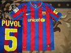 For Sale - Rare FC Barcelona #5 PUYOL 2009/2010 NIKE 152-158 HOME shirt jersey Camiseta 09 - See More at http://sprtz.us/BarcelonaEBay