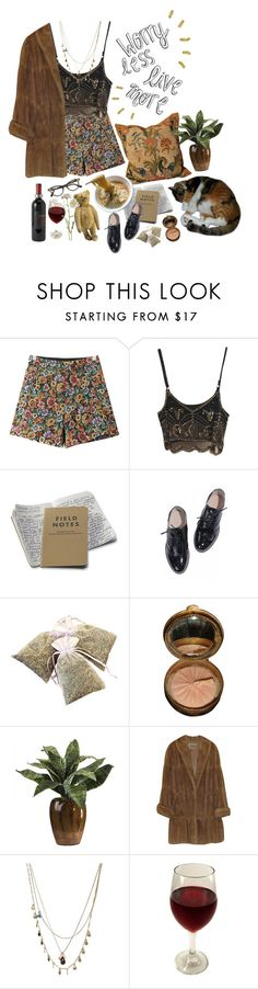 """Slow down, let this feeling last"" by purpleghost ❤ liked on Polyvore featuring Chicnova Fashion, Miss Selfridge, LIST, Orelia and Match"