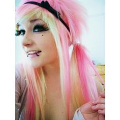 Girl Emo hairstyle   Emo Hair - Polyvore