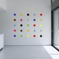 Stickers muraux Art Deco Spots | ACHICA