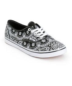 Vans Authentic Lo Pro Bandana Shoes