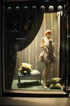 Chanel windows at Bond street, London visual merchandising