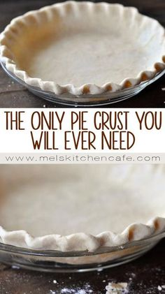 The Best and Only Pie Crust Recipe {& Tutorial} You'll Ever Need (Best Pie Crust) Homemade Pie Crusts, Pie Crust Recipes, Pastry Recipes, Baking Recipes, Amish Pie Crust Recipe, Pie Crust Recipe With Vinegar, Best Pie Crust Recipe Ever, Bisquick Pie Crust, Healthy Recipes
