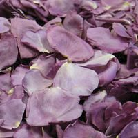 Fragrant Plum Preserved Freeze Dried Rose Petals are a medium to large size, fragrant lavender to plum colored petals.  Non-staining, not slippery. All natural, eco-friendly & biodegradable!   Flyboy Naturals Grows over 100 colors of roses for our petal production www.flyboynaturals.com #rosepetals #flyboynaturals #petals #wedding  #weddingpetals #aisle #bride #ceremonyideas #flowers #proposal #fragrantplumpetals