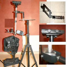 Ryadeh Professional Steadicam Pilot A state of the art advanced and practical stabilizing system designed especially for the modern breed of cameras from 2 to 14 pounds. State Art, Telescope, Digital Camera, Pilot, Cameras, Modern, Lovely Things, Stuff To Buy, Design