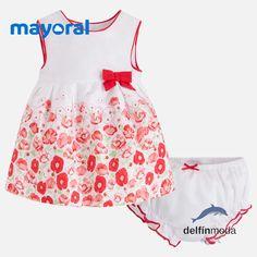 Comprar Vestido de bebe MAYORAL newborn sin mangas estampado amapola ce2dc10257f