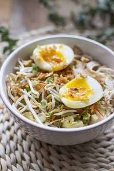 Soto Ajam, een heerlijke Indonesische kippensoep!