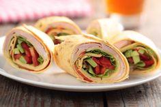 Wrapy z szynką i awokado - Szybkie gotowanie: tortilla w pięciu odsłonach