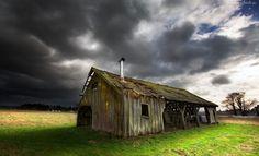 Edycja Tapety: Stary, Dom, Chmury