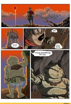 Dark Souls 3,Dark Souls,фэндомы,DS комиксы,Yhorm The Giant,DSIII персонажи,Siegward of Catarina