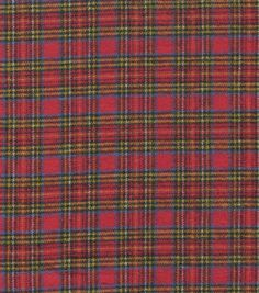 Flannel Shirting Cotton Red Blue Yellow Joanns Fabric And Crafts ae2594321