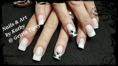 #nailart #morgantaylor #french #dog/catnailart Morgan Taylor, Nailart, French, Dog, Beauty, Diy Dog, French Language, Doggies, Cosmetology