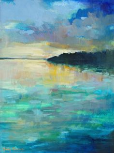 landscape paintings - paintings by erin fitzhugh gregory.  Beautiful color