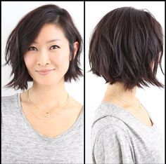 If I went this short, would I be capable of this cute messy look?