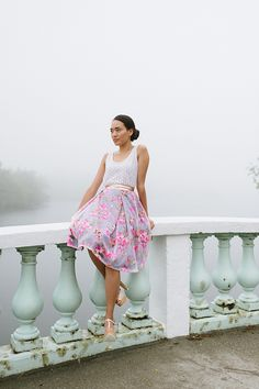 The Lydia skirt - Design and make your own with Boundless Style, the new mix-and-match sewing pattern workbook from Victory Patterns