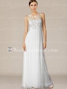 Beautiful Tulle Summer Wedding Gown with Embroidery BC665     Special Price: $262.00   See more here  :  www.inweddingdress.com/sales-bc345s.html